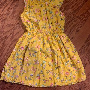 Girl's Size Small GAP Golden Yellow Dress